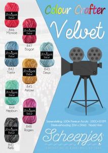 Scheepjes Colour Crafter Velvet poster (2130x3000)